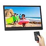 Digital Picture Frame,13.3 inch 1920X1080P with HDMI High Resolution Full IPS Photo/Music/Video Player Calendar, Ultra Slim Design with Remote Control