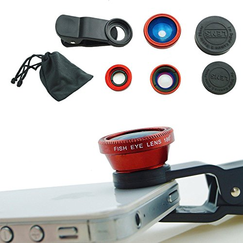 Universal Clip Lens 3 in 1(Red) - 9