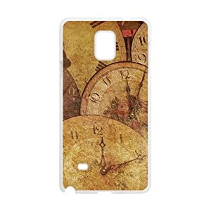Clock Pattern White Phone For SamSung Galaxy S3 Case Cover