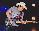 Brad Paisley Autographed - Hand Signed Concert 8x10 Photo - Country Singer