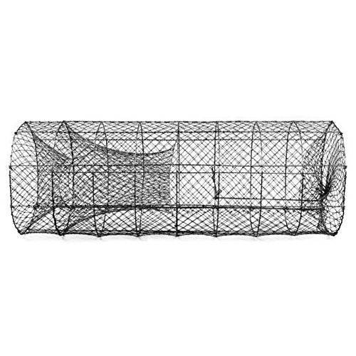 Catfish Wire Trap, Hoop Net. Not Collapsible. 19 x 48 inch Trap, 1 inch Square Netting. ()