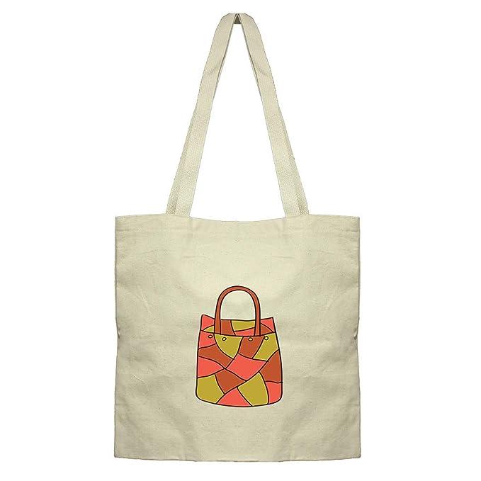 e61f3e7b8453 Amazon.com  Purse Big Cotton Canvas Flat Market Tote Bag  Clothing