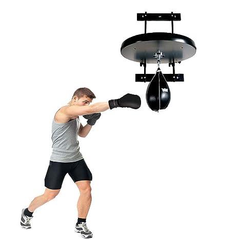 Heavy Duty Boxing Punch Bag Ball Bearing Steel Swivel Speed Ball MMA Athletic US