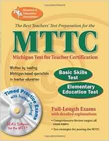 MTTC - Basic Skills & Elementary Education Tests w/CD-ROM