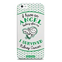 Inspired Cases 3D Textured I Have an Angel - Kidney Cancer Survivor Case for iPhone 5 & 5s