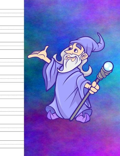 "Handwriting: Penmanship Practice Paper - Dashed Middle Line - Notebook for Writing Letters & Words - Cursive Script & Print Manuscript Alphabet - 8.5"" X 11"" - 100 Pages - Wizard Cover Design pdf epub"