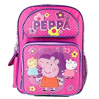 843e606e38ca Image Unavailable. Image not available for. Color  Peppa Pig Large 16 quot   School ...