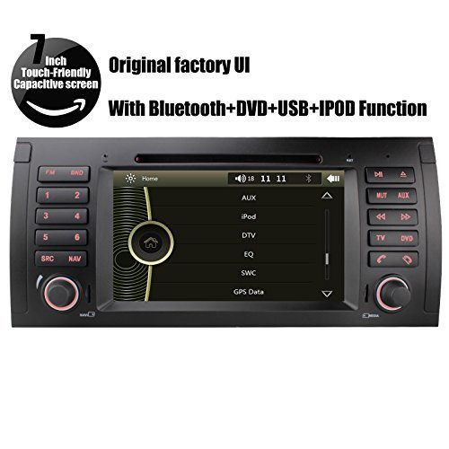 Yinuo 7 Inch Capacitive Touchscreen Car Dvd Stereo For Bmw 5 X5 E39