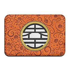 nadeshop Custom Dragon Ball Z Kame símbolo Doormats/entrada alfombra alfombrillas
