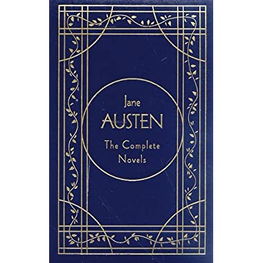 By Jane Austen - Jane Austen: The Complete Novels, Deluxe Edition (Library of Lite (1995-09-18) [Leather Bound]
