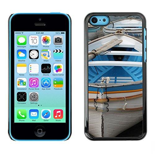 Premio Sottile Slim Cassa Custodia Case Cover Shell // F00008000 bateau // Apple iPhone 5C