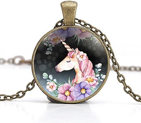 Unicorn Pendant Cabochon Large Cabochon 30x40 Unicorn Design Decorative Cabochon For Jewelry Ceramic Unique Embellishment For Crafts