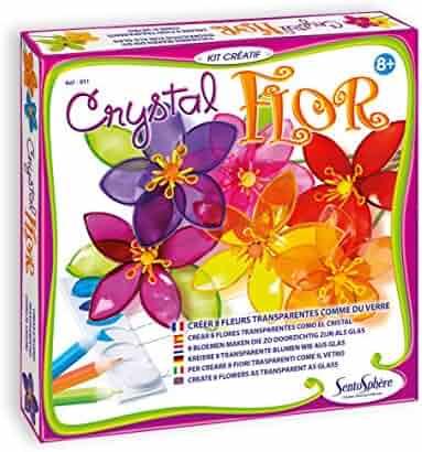 SentoSphere Crystal Flowers
