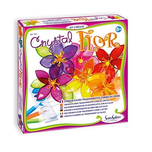 (SentoSphere Crystal Flowers Craft Kit by)