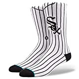 Stance Men's White Sox Home Socks White L