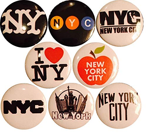 City Button - NYC x 8 New 1