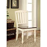 Furniture of America Pauline Cottage Style Dining Chair, Set of 2