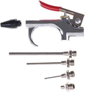 Chrome Air Blow Gun Kit Heavy Duty