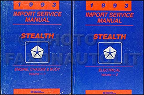 1993 dodge stealth repair shop manual original set es r t and turbo 1993 Dodge Ram 1993 dodge stealth repair shop manual original set es r t and turbo paperback \u2013 1993