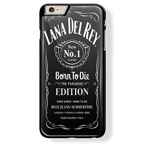 Lana Del Rey Born to Die for iPhone 6 Plus Black case