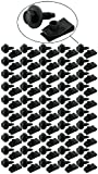 Allstar Performance (ALL18558-50) Body Bolt Kit with Clips, Black, Pack of 50