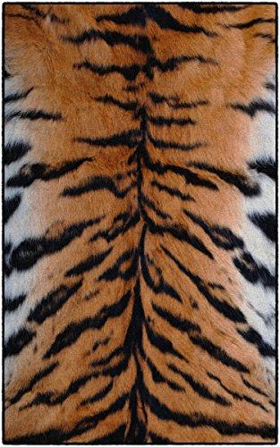 Brumlow Mills EW10211-40x60 Tiger Stripes Animal Print Area Rug, 3'4