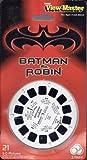 TYCO View-Master / Batman & Robin Reel Set / 3 Reels - 21 3-D pics / 1997