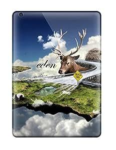 For Ipad Air Fashion Design Surreal Case-dlINFiC40CYZZp