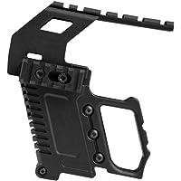 Tactical Area Kit de carabina de Pistola con Montaje en Panel/riel ABS para G17 G18 G19 Serie GBB Cargando Accesorios de Juego CS