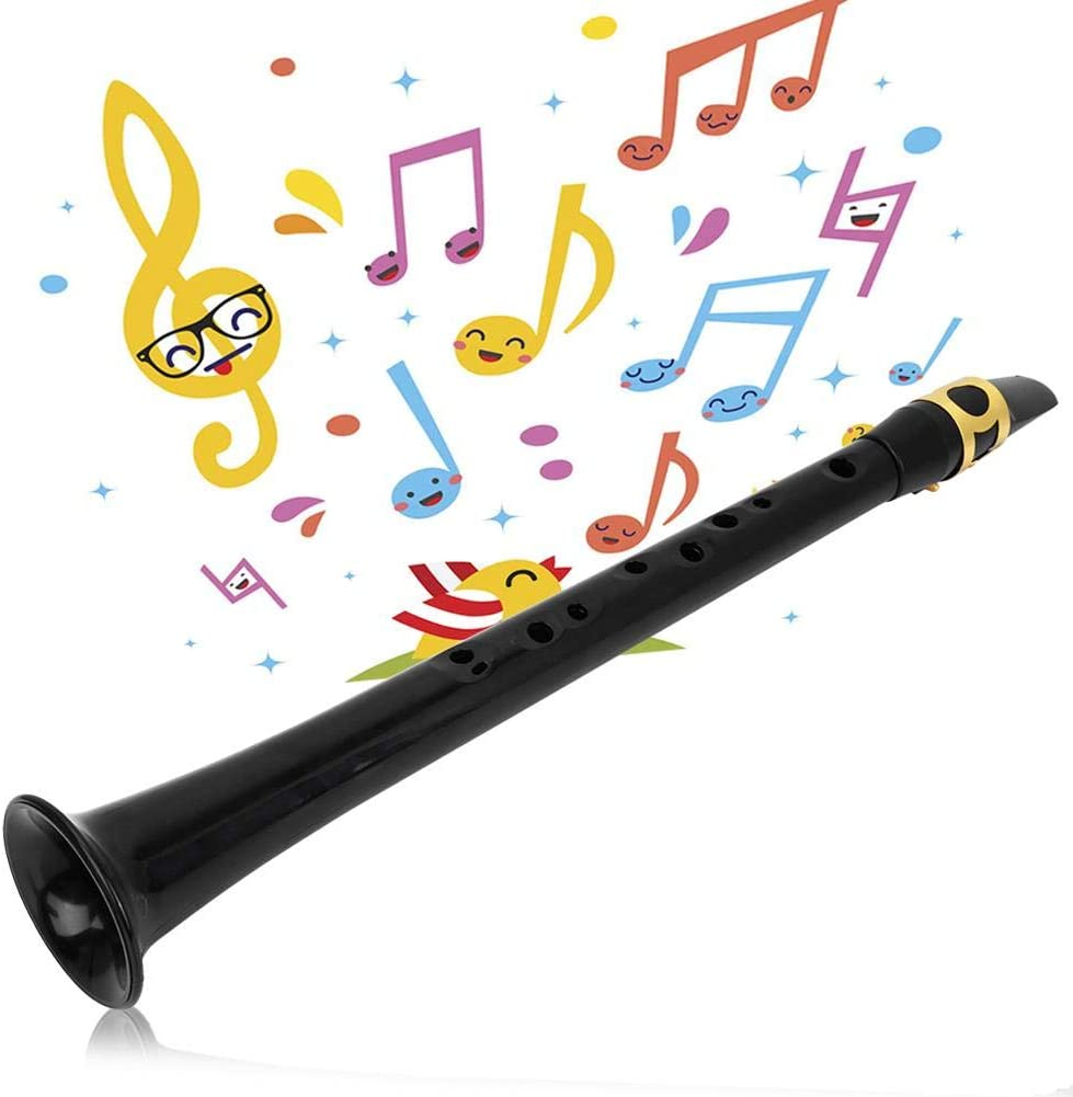 Wosume Pr/áctica port/átil de saxof/ón de Bolsillo Sax Bolsa de l/áminas para Instrumentos de Viento de Madera para Musicales
