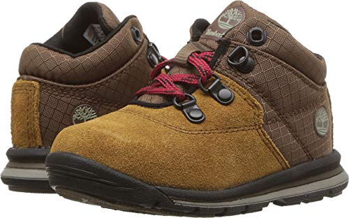 Timberland Baby GT Rally Mid  Boot, Brown Suede, 6.5 Medium US Toddler (Toddler Shoes Timberland)