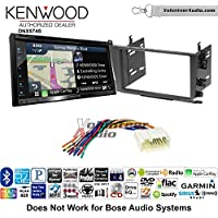 Volunteer Audio Kenwood DNX574S Double Din Radio Install Kit with GPS Navigation Apple CarPlay Android Auto Fits 2001-2003 Acura CL and 1999-2003 Acura TL