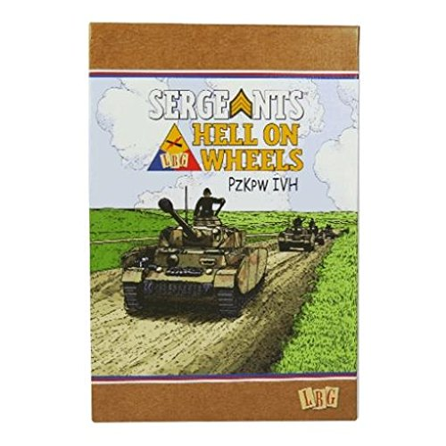 Sergeants Miniatures Game - Core & Assorted Hell on Wheels Expansion - PzKw IV H SW