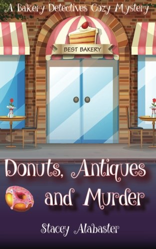book cover of Donuts, Antiques and Murder