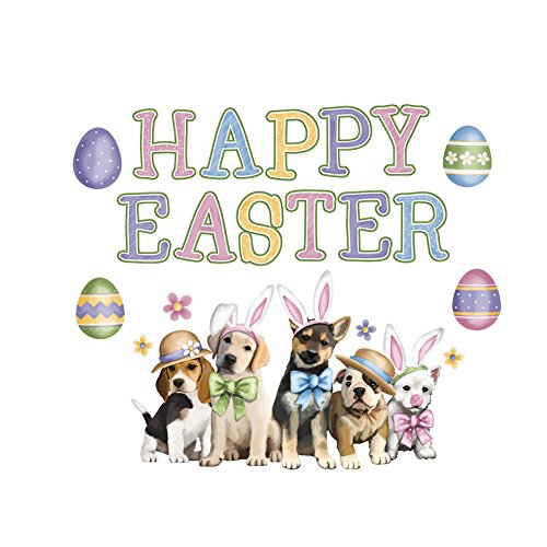 Collections Etc Easter Animal Garage Door Magnets, Dog
