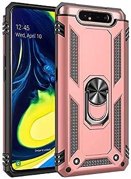 TiHen Funda Samsung Galaxy A80 Armor Carcasa con 360 Anillo iman ...