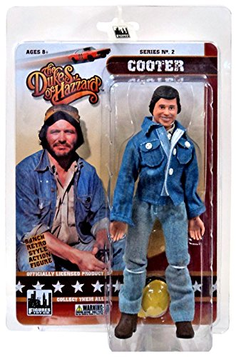 "The Dukes of Hazzard Series 2 Cooter 8"" Action Figure"
