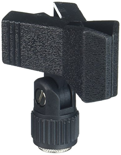 Quik Lok Large Rubber Mic Clip for Wireless Microphones (MP-850) ()
