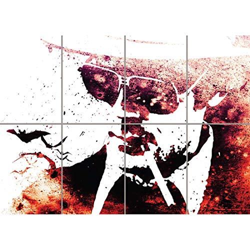 Doppelganger33 LTD Hunter S Thompson Gonzo Fear Loathing Giant Wall Art Print Poster Picture EN181