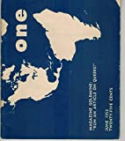 img - for One: The Homosexual Magazine June 1953 Volume 1 No. 6 book / textbook / text book