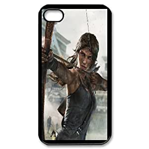 Generic Case Tomb Raider Lara Croft For iPhone 4,4S Q2A7298717 wangjiang maoyi