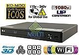 LG 2D/3D - BD - DVD - CD -Wi-Fi MultiZone Region