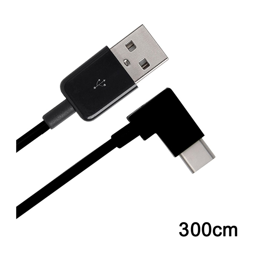 Right Angled USB 3.1 Type C USB-C to USB 2.0 Cable 90 Degree Connector for Tablet Mobile Phone 300cm,3m