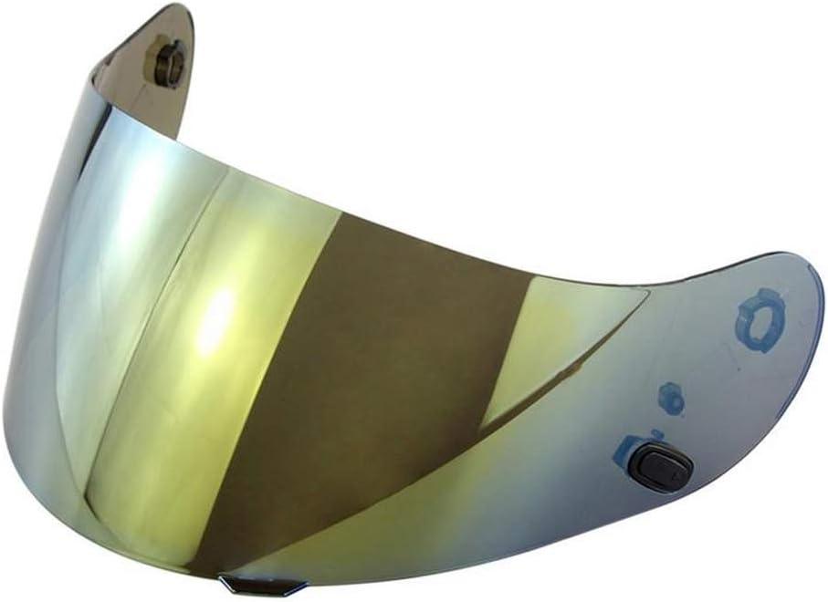Lente de casco de motocicleta PC lente anti UV antivaho antiarañazos