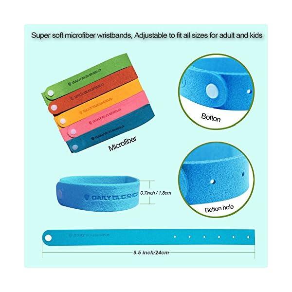 Braccialetto anti zanzare -12 pezzi di braccialetti anti-zanzare adatti per il viaggio, privi di sostanze tossiche o… 3 spesavip