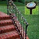 Aleko Solar Powered 35-Foot Holiday String Lights, 100 LED White