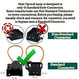 BaiFM Most Fiber Optical Optic Loop Bypass Male
