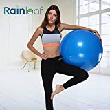 Rainleaf Balance ball-Anti Burst Exercise Ball-Non-Slip,Hold 2000lbs Static Strength Yoga Ball(55cm-65cm)