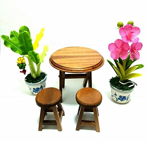 Price comparison product image Miniatures garden table and chair set