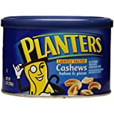 Planters Cashew Halves and Pieces, 8 Ounce (Pack of 12)